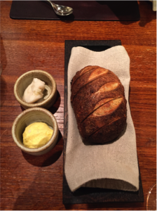Sourdough with pork fat Butter